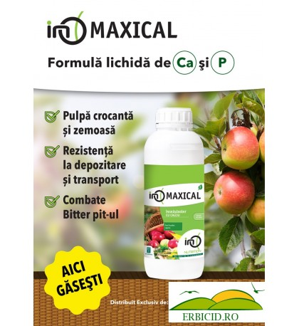 Maxical – Ingrasamant Foliar